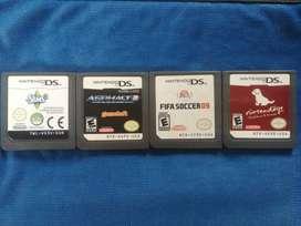 Cartuchos Nintendo DS