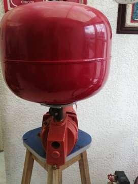 Equipo hidro neumático