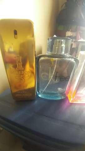 Frascos vacios de perfumes