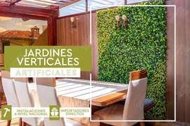 Jardines Verticales con protección UV para exteriores e interiores