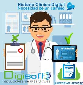 Software Manejo de consulorios e Historias Clinicas.