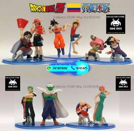 Dragon Ball Z Vs One Piece Colección X 10 Figuras
