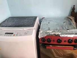 Lavadora y estufa abba