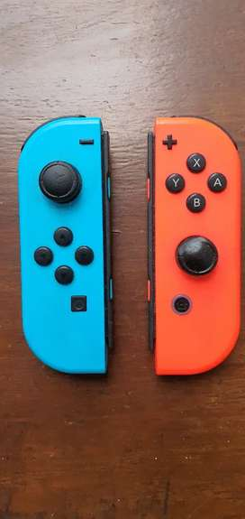 Controles de nintedo switch usados