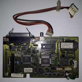 Placa impresora 79F4768 / FBJB0004905 - IBM Lexmark 2391, no se si anda