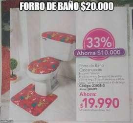 FORRO DE BAÑO CASCANUECES
