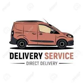 Servicio de delivery o transporte de paquetes o encomiendas