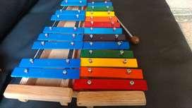 Xilofono Cromatico 2 octavas (25notas) perfecta afinacion Fabricacion Colombiana