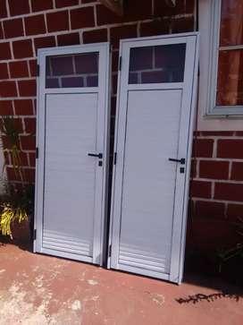 Puertas interior en aluminio