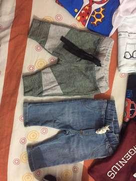 Lote de ropa para bebe