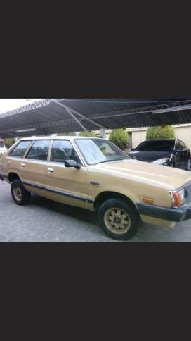 Vendo SUBARU Familiar. Buen estado.