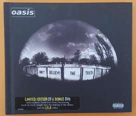 Oasis: Don't Believe The Truth (digibook CD/DVD).