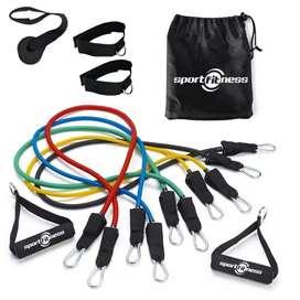Kit de bandas tubulares X5 sport fitness
