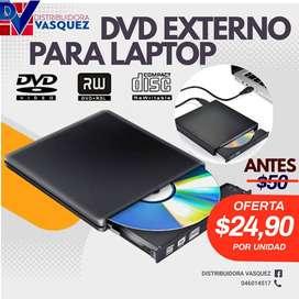 Dvd Writer Rw Quemador Lector De Dvd Cd Externo Usb 2.0 PRO POTENTE FULL