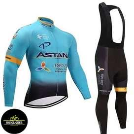 Uniforme Ciclismo RUTA - MTB Badana Gel Jersey Licra