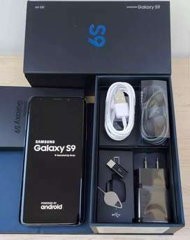 Vendo o cambio S9 Negro 64gb Factura y Garantía.