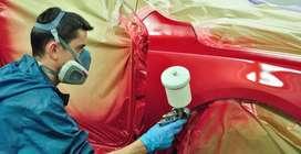 Pintura general a todo tipo de vehiculos