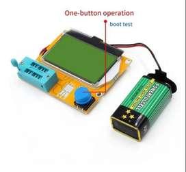 Mega328 M328 Medidor Tester Esr Scr Lcr - T4