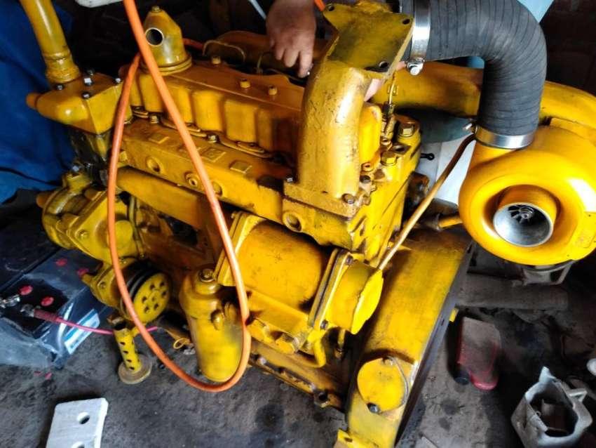 Motor Caterpillar 3304 120hp  Industrial - Marino 0