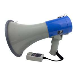 Megafono Perifoneo 9   Recargable 30w Usb/sd Sirena Grabador