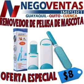REMOBEDOR DE PELUSA DE MASCOTA EXCLUSIVAMENTE EN DESCUENTO SOLO EN NEGOVENTAS