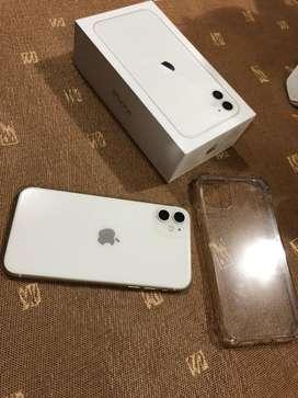 Iphone 11 128gb white 10/10