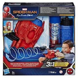 Spiderman Blaster Lanzaredes Hasbro Original