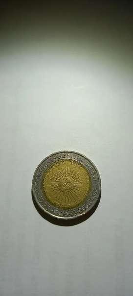 Moneda de 1 $ con error (G)