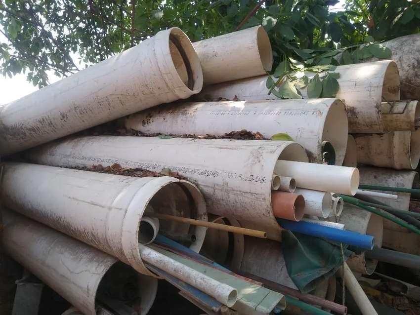 Tubo Caño PVC 400 mm