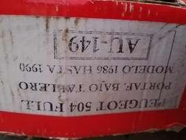 Cableado completo peugeot 504 diesel 86 /90