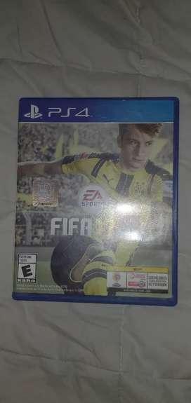 Fifa 17 - PS4 (excelente estado)