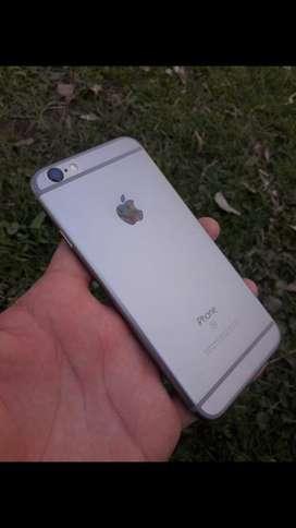 iPhone 6s unica dueña detalle a la vista no afecta en nada todo original !!
