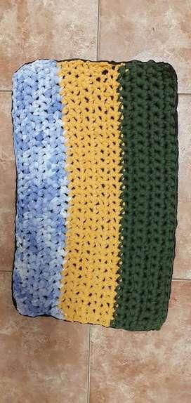 alfombras de totora
