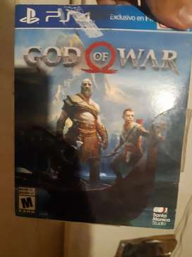 Cambio juego god of war ps4