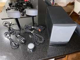 Usado Bose Companion 5 Subwoofer Sistema Altavoces Multimedia 2.1