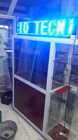 Fabricación de vitrina para tecnicos