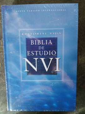 BIBLIA DE ESTUDIO   NVI  EDITORIAL VIDA