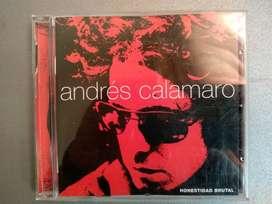 Cd Andres Calamaro - Honestidad Brutal - 2 Cd