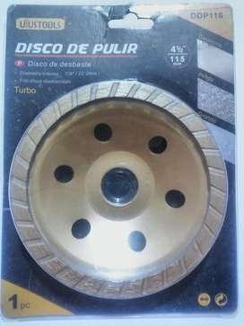 Disco De Pulir De Desbaste 4 1/2 115 Mm