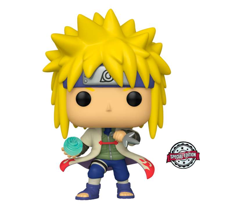 Funko Pop Minato Cuarto Hokage Naruto Shippuden Exclusivo Special edition 0
