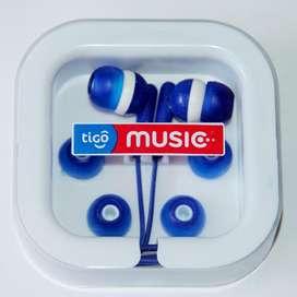 Audífonos In-ear Tigo Music Nuevos