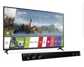 Tv Smart Lg de 55 4k Nuevos Mas Barra
