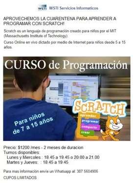 Curso de programación para niños