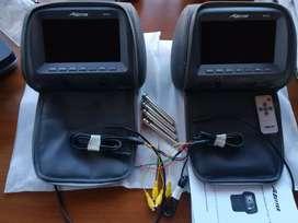 Headrest Pillow monitor BT672