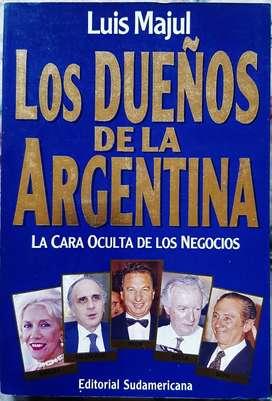 Los Dueños De La Argentina - Luis Majul - Sudamericana 1994