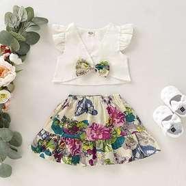 Conjunto de Falda para Niña