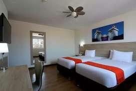Alquiler de Amplia Habitacion Independiente Amoblada con comodas áreas en Hotel **