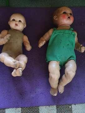 Vendo dos bebes de porcelana alemanes antiguos