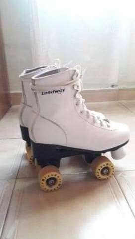 Vendo patines artísticos talle 35 marca landway profecionales