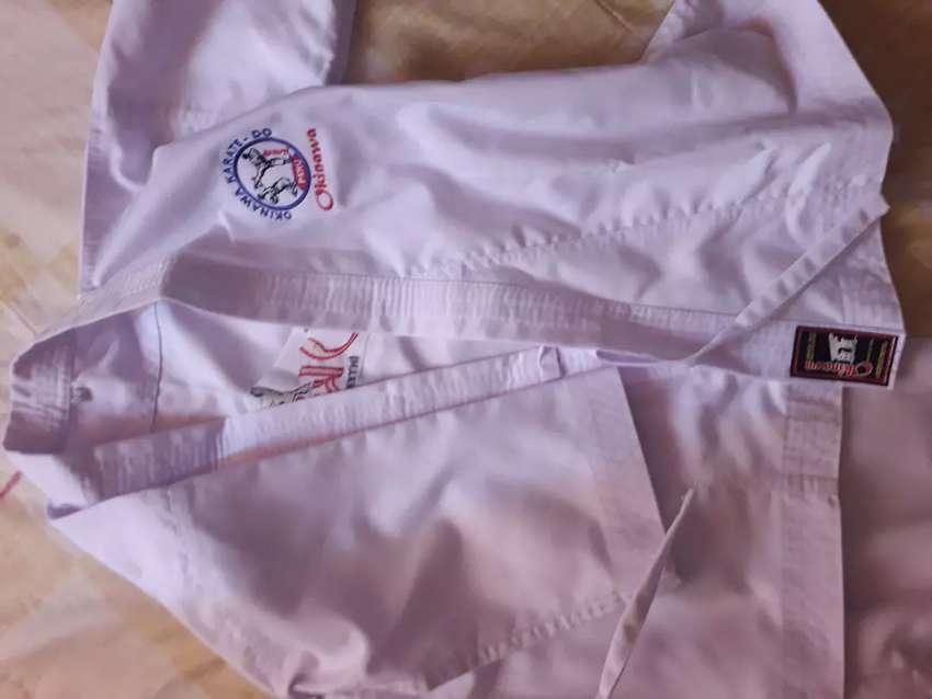 traje de  karate para niño okinawa 9/10 0